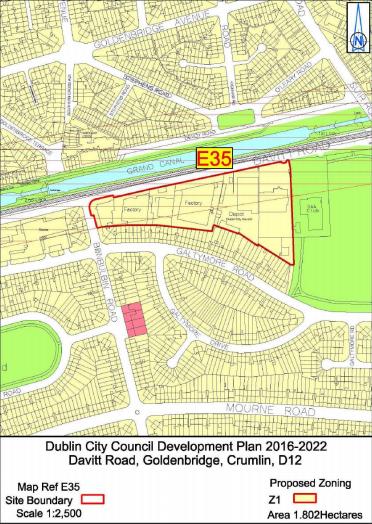 Rezoning of Industrial Sites Around Drimnagh